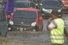 FLOOD Semarang Royalty Free Stock Photos