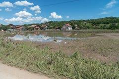 Flood in 2014 - Sevarlije - Bosnia And Herzegovina Stock Photography