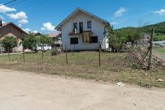 Flood in 2014 - Sevarlije - Bosnia And Herzegovina Royalty Free Stock Photo