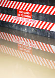 Flood sign royalty free stock images