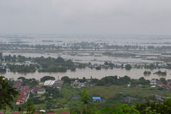 Flood in Thailand Stock Image