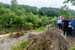 Flood in Ukraine