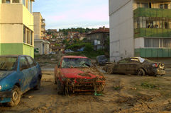 After flood in Varna Bulgaria June 19 Royalty Free Stock Photos
