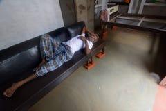 Flood Victims Stock Photos