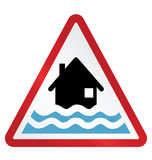 Flood Warning Stock Images