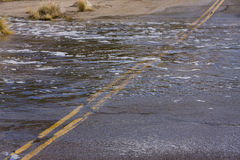 Flood waters Stock Photos