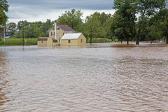 Flood Waters Stock Image