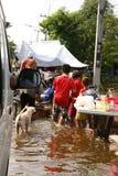 flood02 Ταϊλανδός Στοκ Εικόνα