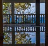 Flooded balcony Royalty Free Stock Photos