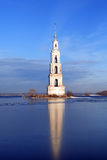 Flooded Belfry In Russia Royalty Free Stock Photo