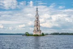 Flooded Belfry Royalty Free Stock Photo
