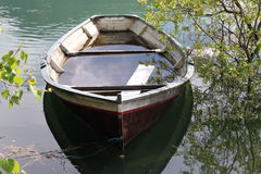 Flooded Boat 2 Royalty Free Stock Photography