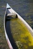 Flooded Canoe Royalty Free Stock Photography