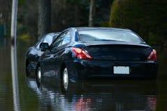 Flooded Cars stock photos