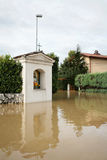 Flooded Christian chapel Stock Photos