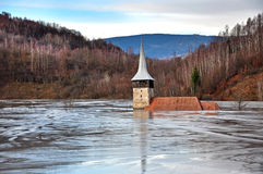 Flooded church Stock Images