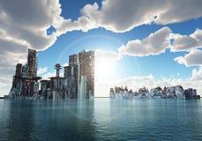 Free Flooded City Stock Image - 8142251