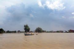 Flooded India Stock Photo