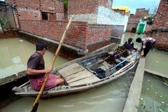 Flooded India Royalty Free Stock Image