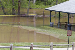 Flooded Recreation Area Stock Photos