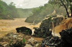Flooded river Stock Photos