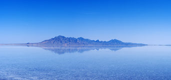 Flooded Salt Flats Reflection Royalty Free Stock Photos