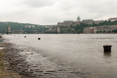 Flooded Tie-Downs, Budapest Stock Image