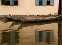 Flooded Tonle Sap Lake Royalty Free Stock Images