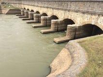 floodgate Fotografie Stock