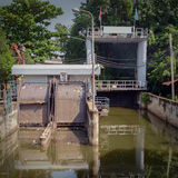 Floodgate. Royalty Free Stock Photography