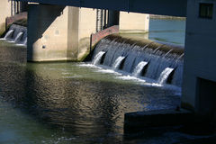 Floodgates Stock Photo