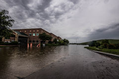 Flooding весны Техаса Стоковое Изображение RF