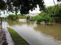 Flooding Хьюстона Стоковые Изображения