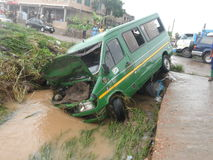 Flooding 3-ье июня, Аккра, Гана Стоковое Фото