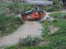 Flooding 3-ье июня, Аккра, Гана Стоковая Фотография