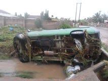 Flooding 3-ье июня, Аккра, Гана Стоковое фото RF