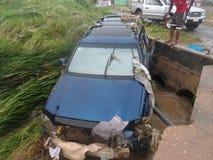Flooding 3-ье июня, Аккра, Гана Стоковое Изображение RF