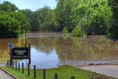 flooding 2010 clarksville tn Стоковое Изображение