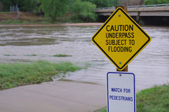 Flooding Royalty Free Stock Images