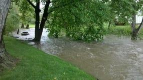 flooding Fotografia Stock Libera da Diritti