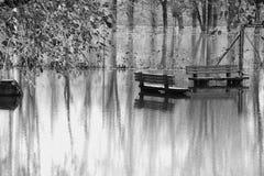 flooding Fotografía de archivo libre de regalías