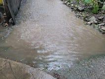flooding стоковое фото