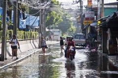 Flooding in Bangkok. Stock Image