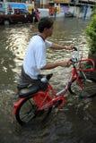 Flooding in Bangkok, Thailand Royalty Free Stock Images