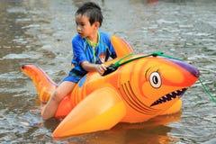 Flooding in Bangkok, Thailand Stock Photo