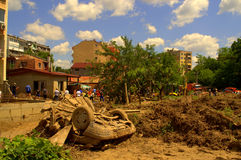 After Flooding Bulgaria,Varna Royalty Free Stock Photos
