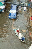 Flooding crisis in Thailand Stock Image