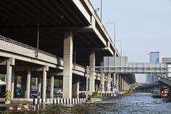 Flooding i Bangkok. Arkivfoto