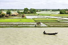 Free Flooding In The Delta Bangladesh, Climate Changes Royalty Free Stock Images - 62637469