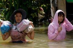 Flooding in Nakhon Ratchasima, Thailand. Royalty Free Stock Image